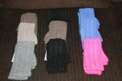 Photo of 100% Alpaca Fingerless Gloves