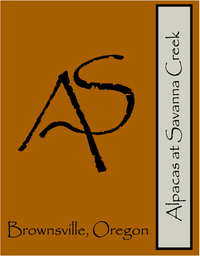 Alpacas at Savanna Creek - Logo