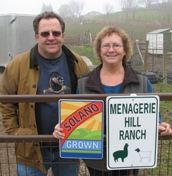 Kirk & Deb at the Main Gate