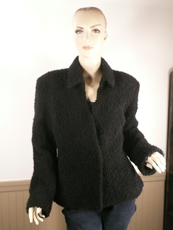 Photo of Boucle Alpaca Jacket