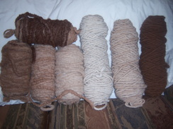 Photo of 100% Suri Rug Yarn on cotton core