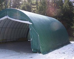 Photo of 30'W x 30'L x 15'H Shelter