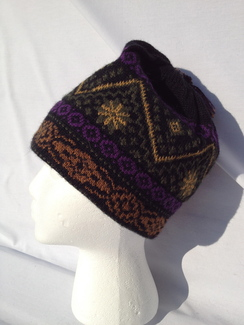 Photo of Hat - Black-n-Gold Design