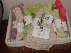 Photo of 4 oz Skeins Alpaca/Merino Blend Pastels