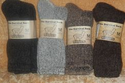 Photo of Alpaca Survival Socks - Large
