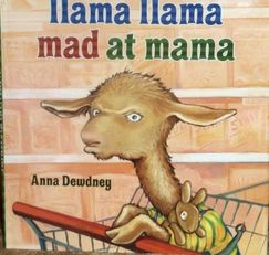 Photo of LLama Llama Mad at Mama