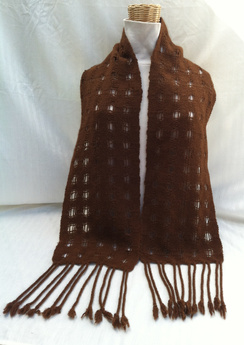 Photo of Open Weave Felted Scarf