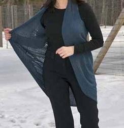 Photo of Sleeveless Cascade Vest