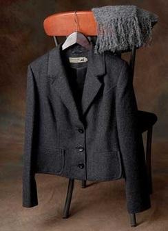 Photo of Fringe Fitted Jacket
