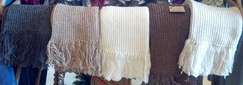 Photo of Alpaca Fringe Scarf