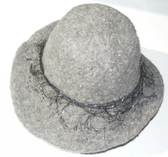 Photo of Women's Felted Hat - 100% alpaca
