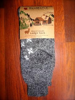 Photo of Alpaca Casuals Lodge Sock