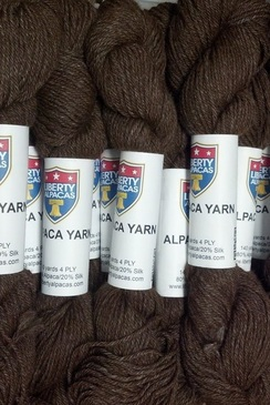 Photo of 4 Ply 80% Alpaca/20% Silk