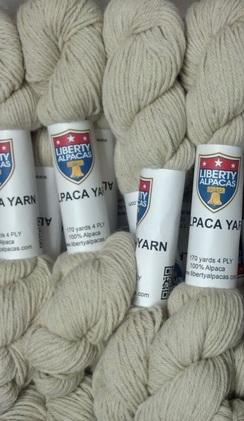 Photo of 4 Ply 100% Alpaca Yarn