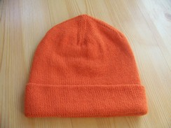 Photo of Blaze orange hat