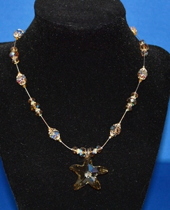 Photo of Swarovski Starfish Necklace