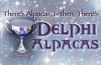 Delphi Alpacas - Logo