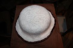 Photo of 100% Hand-Felted Alpaca Hat