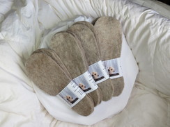 Photo of Alpaca felted insoles - sold out for now
