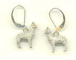 Photo of Huacaya Alpaca Dangle Earrings