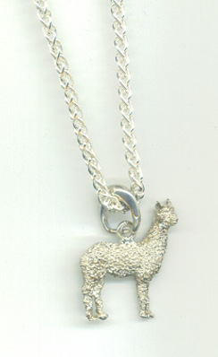 Photo of Small Huacaya Alpaca Necklace