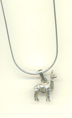 Photo of Small Suri Alpaca Necklace