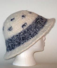 Photo of Felted Alpaca Hat #2