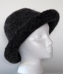 Photo of Felted Alpaca Hat #5