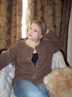 Photo of Chestnut Cardigan