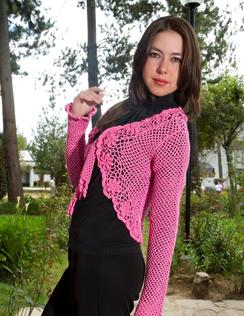 Photo of Crocheted Bolero