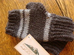 Photo of Hand Crocheted Fingerless Mittens