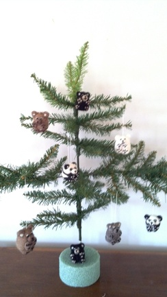 Photo of Bear Ornaments!