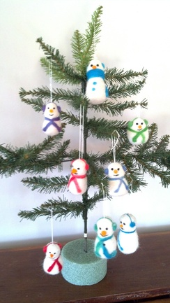 Photo of Snowman Ornaments (Earmuffs)