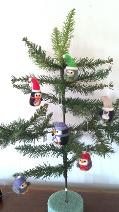 Photo of Penguin Ornaments (hats)