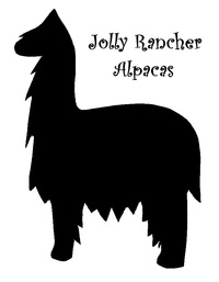 Jolly Rancher Alpacas - Logo
