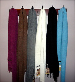 Photo of Alta Boucle' Handwoven Scarves