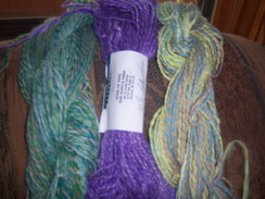 Photo of 100% Suri Alpaca Hand Spun Yarn