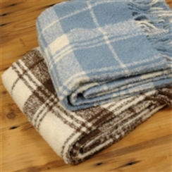 Photo of Classic Plaid Boucle' Throw