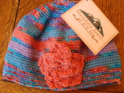 Photo of Alpaca Cap with Flower