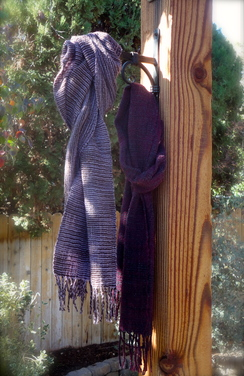 Photo of Cross Weave Handwoven Scarf