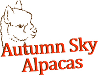 Autumn Sky Alpacas - Logo