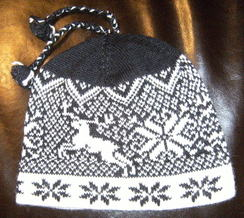 Photo of Nordic design knit hats