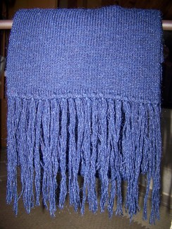 Photo of Featherweight knit scarf