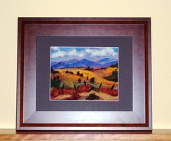 Photo of Needle Felted Alpaca/Wool Painting -SOLD