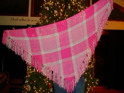 Photo of Pinks with Purpose Shawl