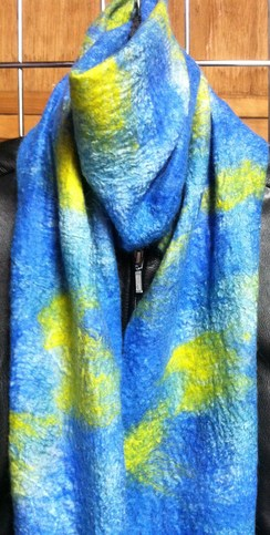 Photo of  Reversible Nuno Felted Scarf