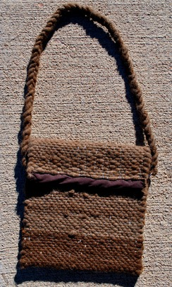 Photo of Purse-Woven Alpaca