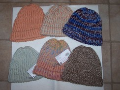 Photo of Handknit Alpaca Ski Caps