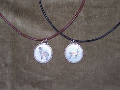 Photo of Sterling silver and copper alpaca neckla