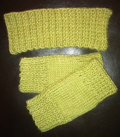 Photo of Headband and Hand-Warmer Set